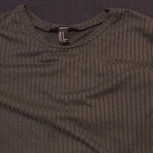 Forever 21 Tops - Loose pinstriped tee